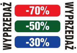 Wyprzedaż opraw do -70%